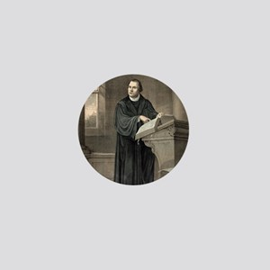 Martin Luther, German theologian Mini Button