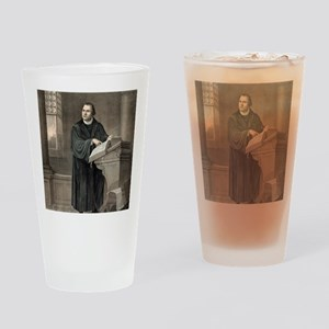 Martin Luther, German theologian Drinking Glass