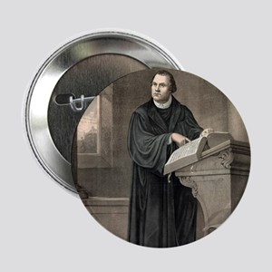 """Martin Luther, German theologian 2.25"""" Button"""