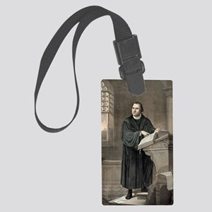 Martin Luther, German theologian Large Luggage Tag