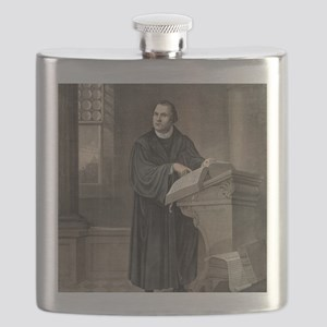 Martin Luther, German theologian Flask