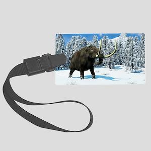Mammoth, artwork Large Luggage Tag