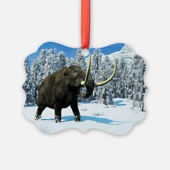 Mammoth, artwork Ornament
