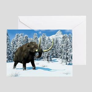 Mammoth, artwork Greeting Card