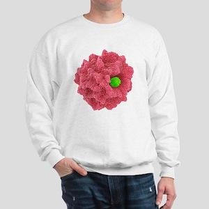 Macrophage engulfing pathogen, artwork Sweatshirt