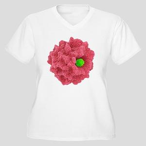 Macrophage engulf Women's Plus Size V-Neck T-Shirt