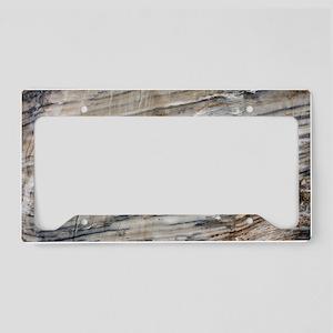 Gypsum deposit License Plate Holder