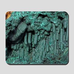 Malachite mineral sample Mousepad