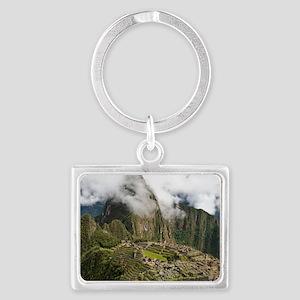 Machu Picchu, Peru Landscape Keychain