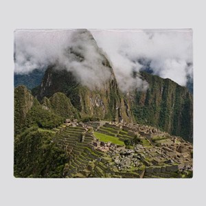 Machu Picchu, Peru Throw Blanket