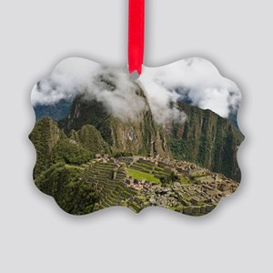 Machu Picchu, Peru Picture Ornament