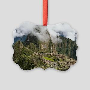 Machu Picchu, Peru Picture Ornament