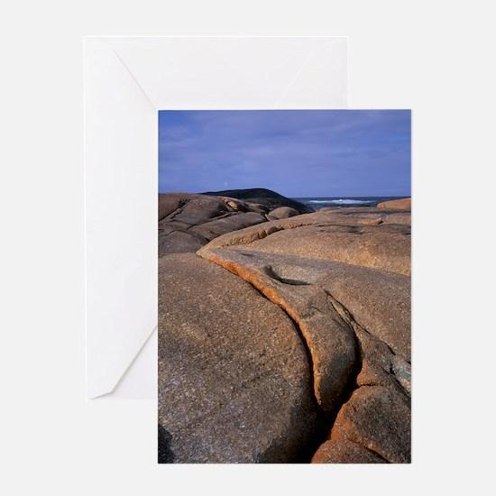 Granite outcrop Greeting Card