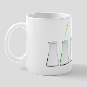 Green science, conceptual image Mug