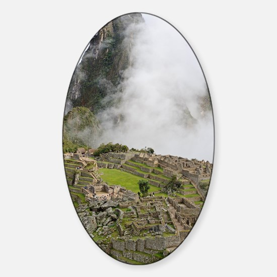 Machu Picchu, Peru Sticker (Oval)