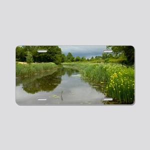 Grand Western Canal, Devon, Aluminum License Plate