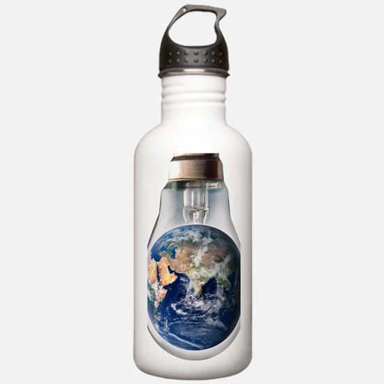 Global warming, concep Water Bottle