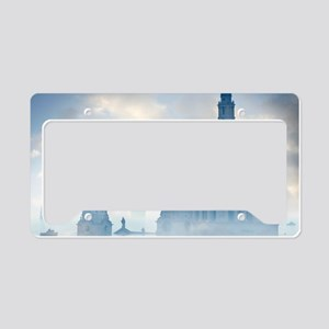 Global warming License Plate Holder