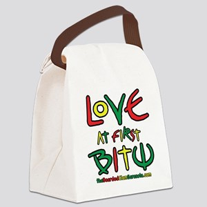 Love At First Bite Canvas Lunch Bag
