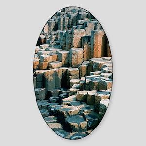 Giant's Causeway Sticker (Oval)