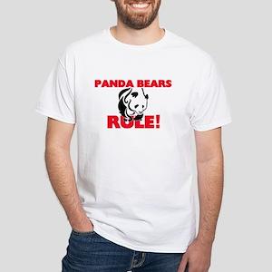 Panda Bears Rule! T-Shirt