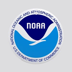 NOAA Round Ornament