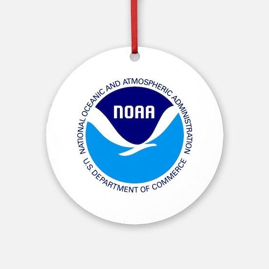 NOAA Round Ornament