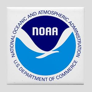 NOAA Tile Coaster