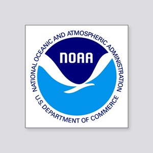 "NOAA Square Sticker 3"" x 3"""