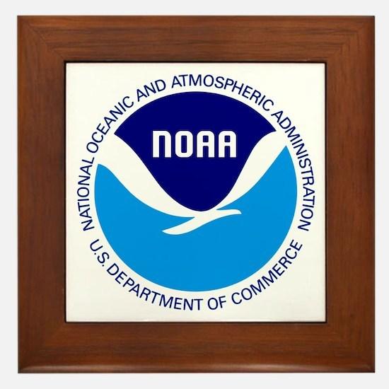 NOAA Framed Tile