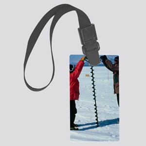Glaciology research Large Luggage Tag
