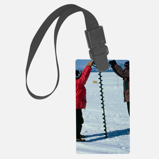 Glaciology research Luggage Tag