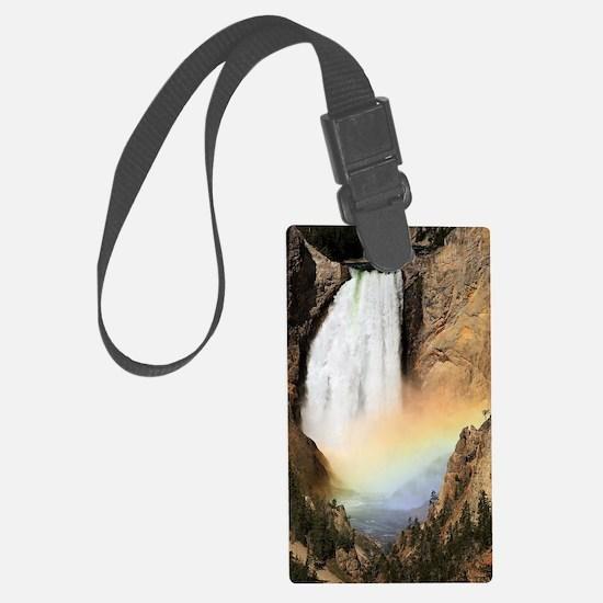 Lower Yellowstone Falls and spra Luggage Tag