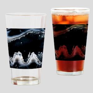 Geode interior Drinking Glass