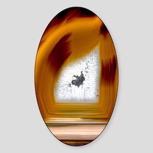Geode interior Sticker (Oval)