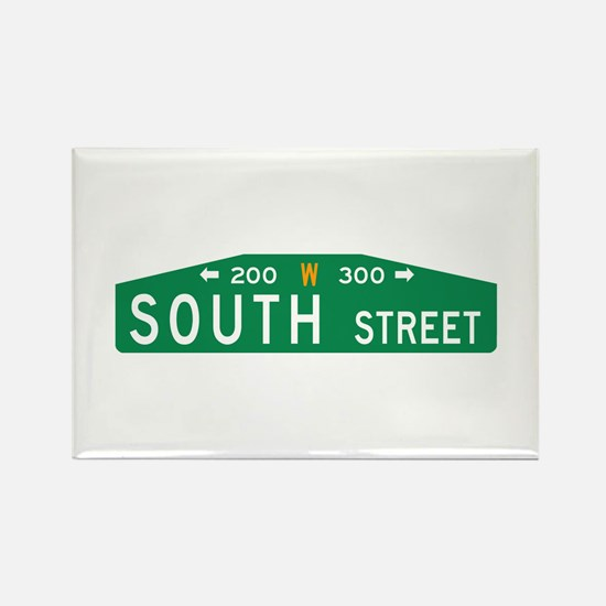 South St., Philadelphia (US) Rectangle Magnet