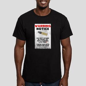 WARNING NOTICE - RIFLE BULLETS - HEALTH HA T-Shirt