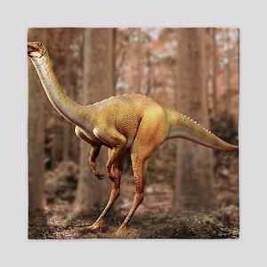 Gallimimus dinosaur Queen Duvet