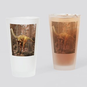 Gallimimus dinosaur Drinking Glass