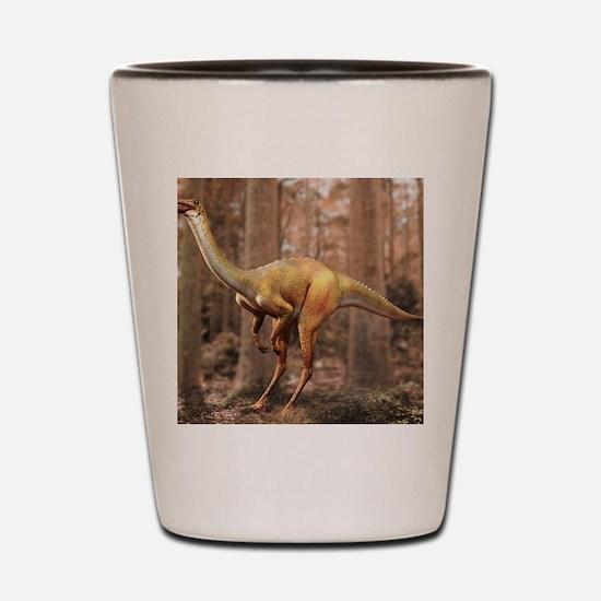 Gallimimus dinosaur Shot Glass