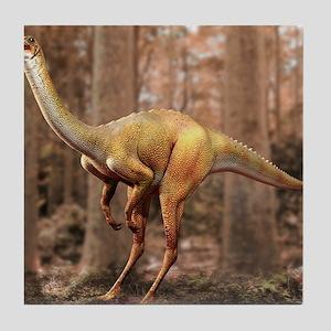 Gallimimus dinosaur Tile Coaster