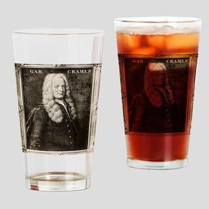 Gabriel Cramer, Swiss mathematician Drinking Glass