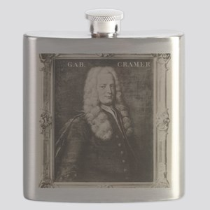Gabriel Cramer, Swiss mathematician Flask