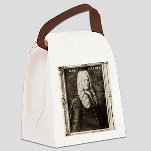 Gabriel Cramer, Swiss mathematici Canvas Lunch Bag