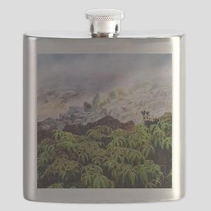 Fumarole vents Flask