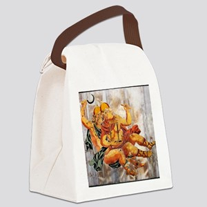 Gemini, the Heavenly Twins Canvas Lunch Bag