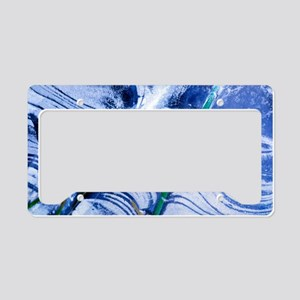 Frozen pond License Plate Holder