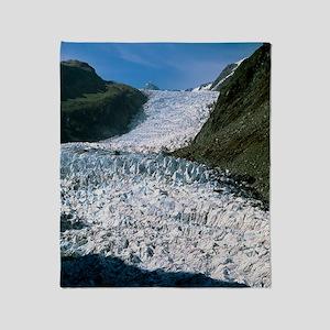 Fox Glacier, New Zealand Throw Blanket