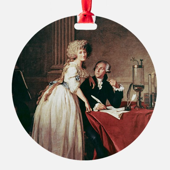 Lavoisier and his wife, 1788 Ornament
