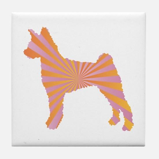 Pumi Rays Tile Coaster